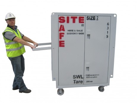 A safe Size 2 unit to use onsite