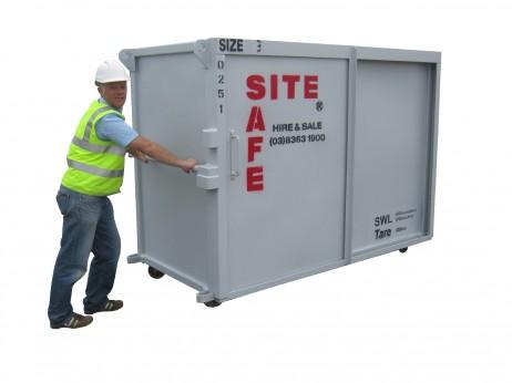 A safe Size 3 Site Safe unit