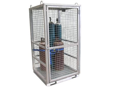 Gas Bottle Storage Cage New Victoria